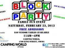 46 Creative Block Party Template Flyers Free in Photoshop for Block Party Template Flyers Free