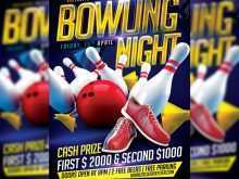 46 Customize Bowling Flyer Template Free Photo with Bowling Flyer Template Free