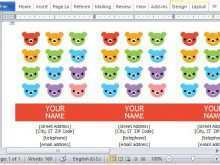 46 Customize Business Card Templates Word 2013 Download by Business Card Templates Word 2013