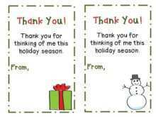 46 Customize Christmas Card Thank You Note Template Download for Christmas Card Thank You Note Template