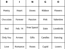46 Customize Our Free Bingo Card Template In Word Photo with Bingo Card Template In Word