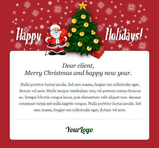 46 Customize Our Free Christmas Card Template For Email in Word for Christmas Card Template For Email