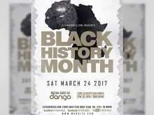 46 Format Black History Month Flyer Template for Ms Word by Black History Month Flyer Template