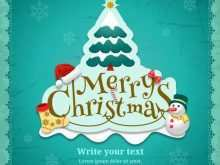 46 Format Christmas Greeting Card Template Psd Maker with Christmas Greeting Card Template Psd