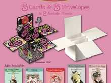 46 Free Pop Up Card Box Template in Photoshop by Pop Up Card Box Template