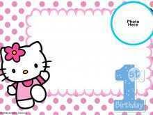 46 Free Printable 1St Birthday Card Template Word Now by 1St Birthday Card Template Word