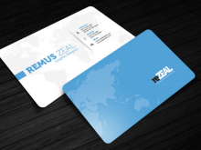 Classic Business Card Template Illustrator