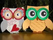 46 Free Printable Owl Pop Up Card Template Download by Owl Pop Up Card Template