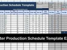 46 Free Production Planning Template Excel Templates for Production Planning Template Excel