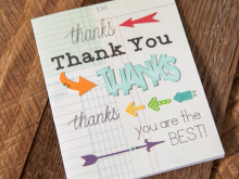 46 Free Thank You Card Template Cricut For Free for Thank You Card Template Cricut