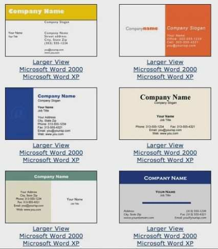 46 Free Word Calling Card Templates in Word with Word Calling Card Templates