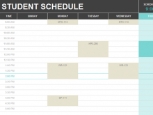 46 How To Create Class Schedule Template For Excel For Free with Class Schedule Template For Excel