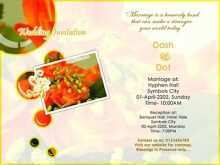 Indian Wedding Card Templates Online Free