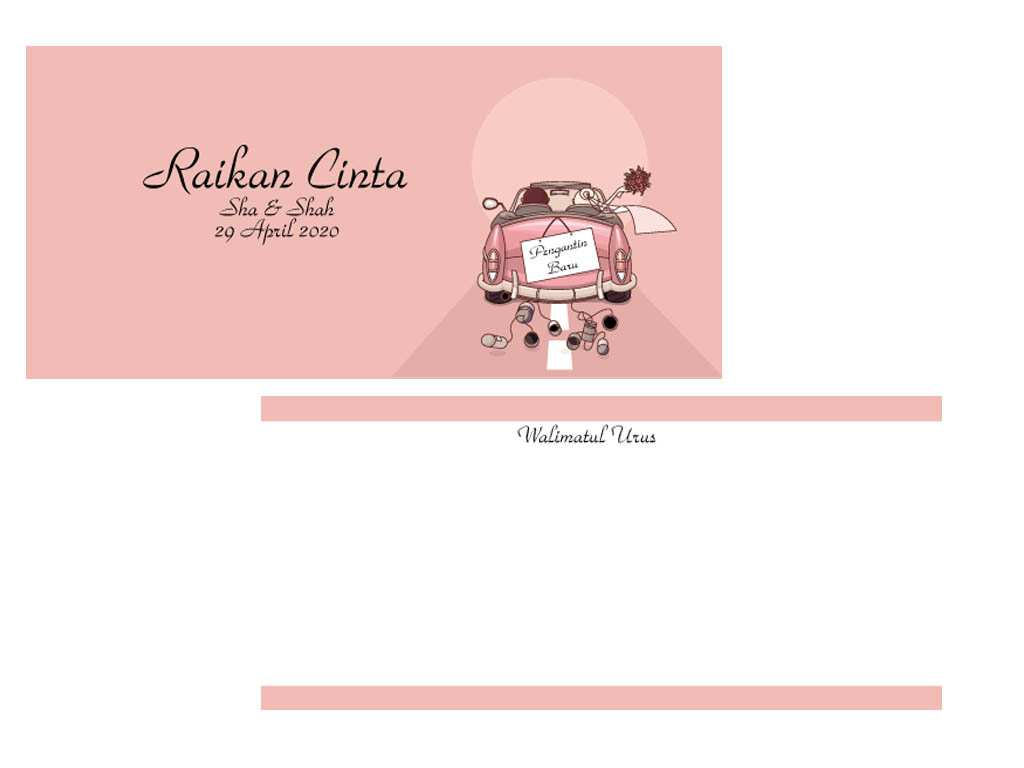 46 Online Template Kad Kahwin Templates With Template Kad Kahwin Cards Design Templates