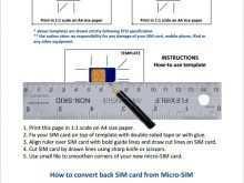 46 Printable Sim Card Cut Template Pdf Download by Sim Card Cut Template Pdf