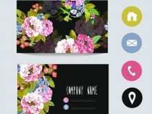 46 Report Floral Business Card Template Photoshop Formating for Floral Business Card Template Photoshop