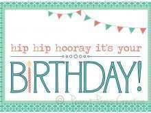 46 Standard Birthday Card Template Excel Templates by Birthday Card Template Excel