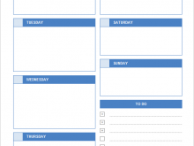 46 Standard Daily Calendar Template For Word For Free by Daily Calendar Template For Word