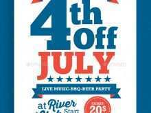 46 The Best 4Th Of July Party Flyer Templates For Free with 4Th Of July Party Flyer Templates