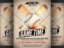 46 The Best Baseball Flyer Template Free Download by Baseball Flyer Template Free