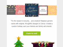 46 The Best Christmas Card Template Email Layouts with Christmas Card Template Email