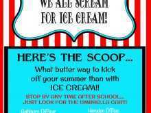 46 The Best Ice Cream Social Flyer Template Free Photo for Ice Cream Social Flyer Template Free