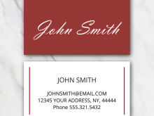 How To Edit Business Card Template In Word