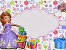 47 Adding Sofia Birthday Card Template Formating by Sofia Birthday Card Template