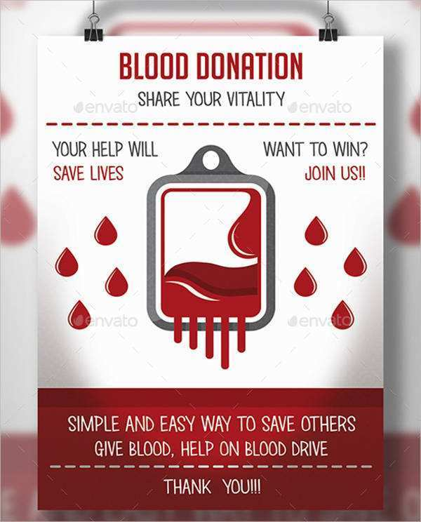 47 Best Blood Donation Flyer Template Formating by Blood Donation Flyer Template