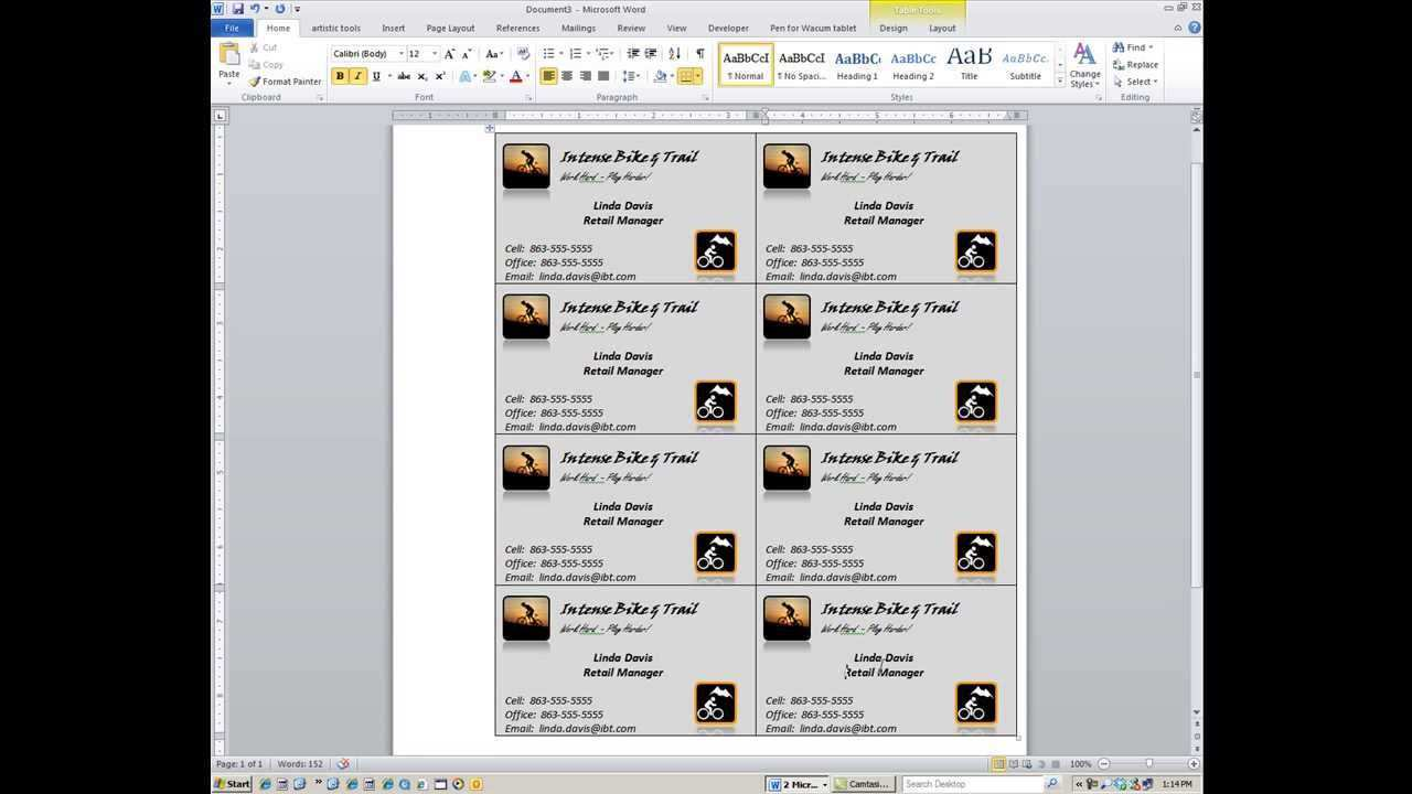 47 Business Card Layout Microsoft Word in Word by Business Card Layout Microsoft Word