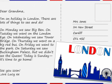 Postcard Format Essay