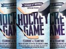 47 Creating Free Hockey Flyer Template for Ms Word for Free Hockey Flyer Template
