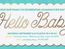 47 Creative Baby Shower Flyers Free Templates Layouts with Baby Shower Flyers Free Templates