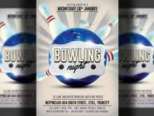 47 Customize Bowling Event Flyer Template in Photoshop by Bowling Event Flyer Template