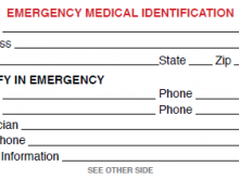 47 Customize Emergency Id Card Template Now with Emergency Id Card Template