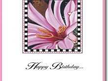 47 Customize Our Free A3 Birthday Card Template For Free with A3 Birthday Card Template
