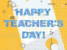 47 Customize Our Free Card Template For Teachers Day Templates with Card Template For Teachers Day