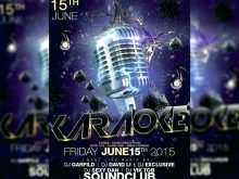 47 Customize Our Free Free Karaoke Flyer Template Formating with Free Karaoke Flyer Template