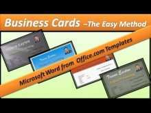 47 Format Business Card Format Word 2010 PSD File with Business Card Format Word 2010