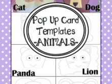47 Format Lion Pop Up Card Template in Photoshop by Lion Pop Up Card Template