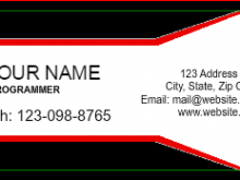 47 How To Create Name Card Templates Software Templates with Name Card Templates Software