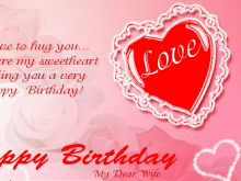 47 Online Birthday Card Love Template Maker by Birthday Card Love Template