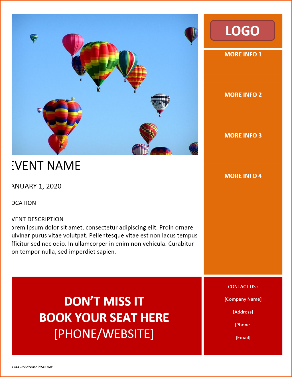 47 Online Ms Word Flyer Template Free In Word For Ms Word Flyer Template Free Cards Design Templates