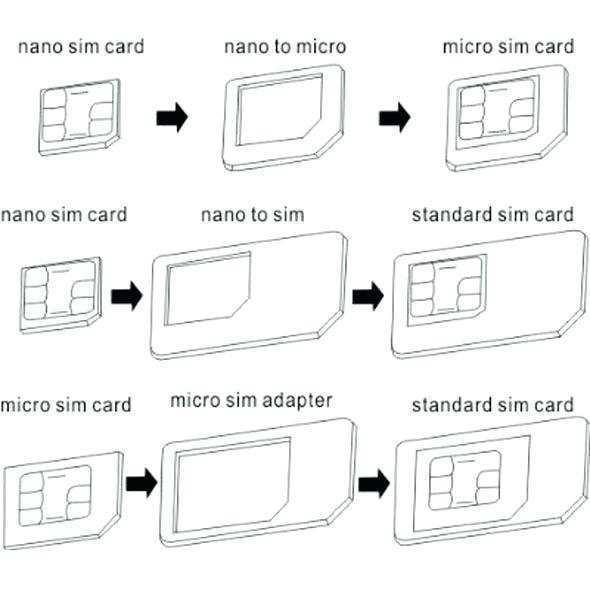 47 Printable Sim Card Cut Template Print Photo with Sim Card Cut Template Print