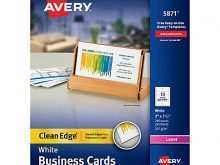 47 Report Avery Business Card Template Word 5871 Download with Avery Business Card Template Word 5871
