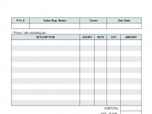 47 Report Invoice Template Freelance Service Provider PSD File with Invoice Template Freelance Service Provider