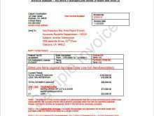 Tax Invoice Template Contractor