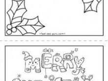 48 Adding Christmas Card Template For Preschoolers Download by Christmas Card Template For Preschoolers