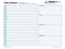 48 Adding Daily Agenda Template 2017 Maker with Daily Agenda Template 2017