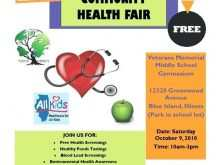 48 Adding Health Fair Flyer Template for Ms Word with Health Fair Flyer Template